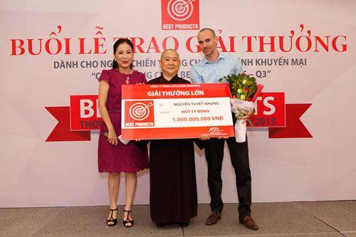 Lộ diện người chiến thắng 1 tỷ đồng của Giải Thưởng Lớn Best Products - 1