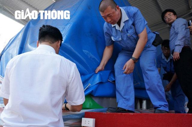 """Hình ảnh """"đập hộp"""" đoàn tàu mẫu Cát Linh - Hà Đông - 3"""