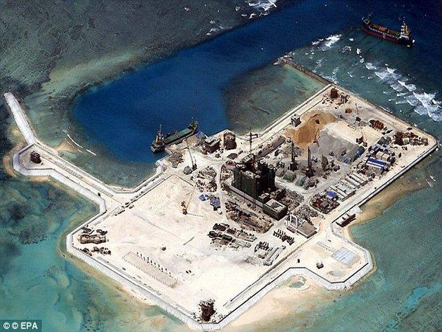 """Mỹ điều tàu chiến tới biển Đông: Báo TQ kêu gọi """"bình tĩnh"""" - 2"""