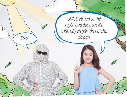 """Thời trang """"ninja"""": đã đủ để bảo vệ da? - 3"""