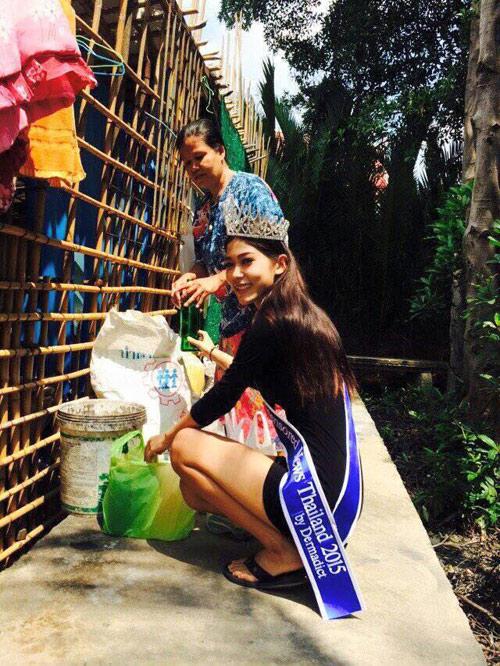 """Hoa hậu """"nhặt rác"""" Thái Lan gian dối về học vấn - 7"""
