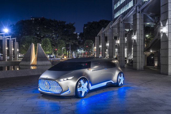 Sau khi xuất hiện những hình ảnh rò rỉ cách đây vài ngày, hãng xe Đức đã chính thức công bố mẫu Mercedes-Benz Vision Tokyo concept tại triển lãm Tokyo Motor Show đang diễn ra ở Nhật Bản.