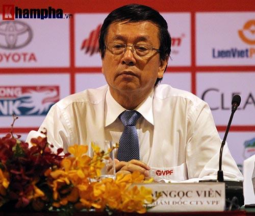 Ông Cao Văn Chóng chính thức làm Tổng giám đốc VPF - 1