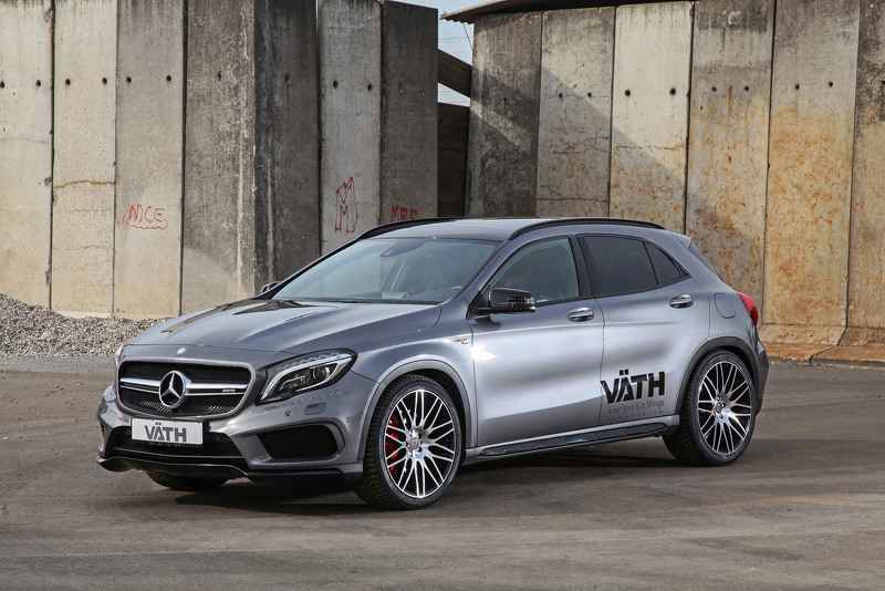 Ngắm mẫu Mercedes GLA 45 AMG phiên bản độ của VATH - 1