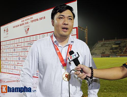 """""""Sếp lớn"""" VPF U40 & lời hứa V-League """"sạch"""" hơn - 1"""