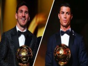 """Bóng đá - Bầu chọn QBV: Người Brazil """"yêu"""" Messi hơn Neymar"""