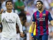 Bóng đá - Ronaldo, Suarez đọ bàn thắng đẹp vòng 9 Liga