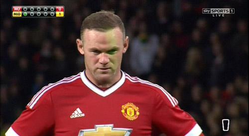 """Rooney bị """"ám hại ngầm"""" trước khi sút 11m - 1"""