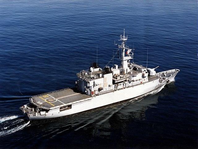 Tàu khu trục Pháp tiến vào Biển Đông - 1