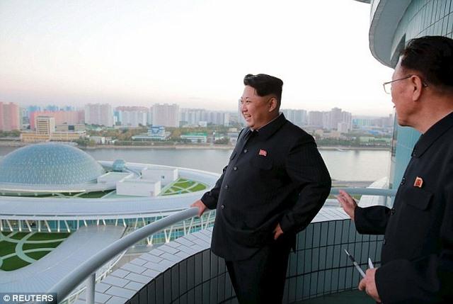 """Triều Tiên khánh thành tòa nhà """"hạt nhân"""" hiện đại - 1"""