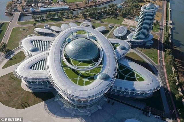 """Triều Tiên khánh thành tòa nhà """"hạt nhân"""" hiện đại - 2"""