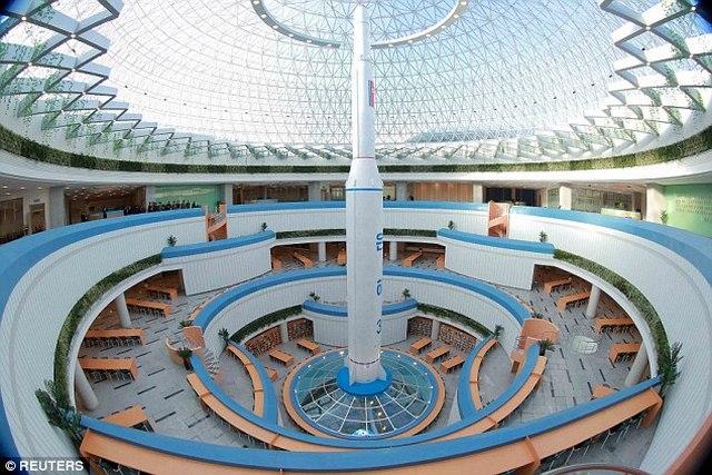 """Triều Tiên khánh thành tòa nhà """"hạt nhân"""" hiện đại - 4"""