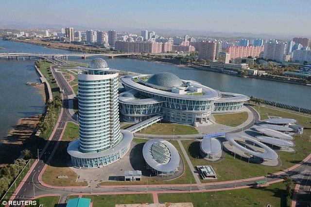 """Triều Tiên khánh thành tòa nhà """"hạt nhân"""" hiện đại - 6"""