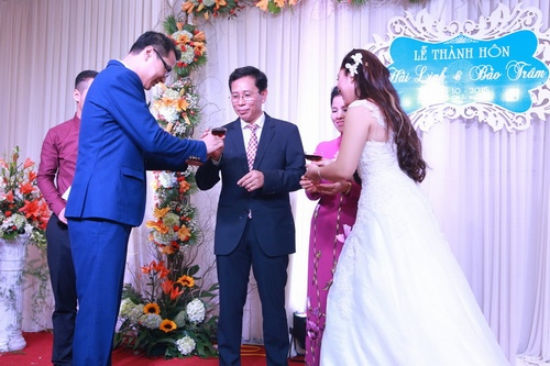 Bảo Trâm Vietnam Idol hạnh phúc trong ngày cưới - 10