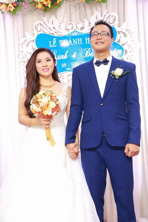 Bảo Trâm Vietnam Idol hạnh phúc trong ngày cưới - 5