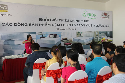 Everon chính thức ra mắt sản phẩm đệm lò xo đạt chuẩn quốc tế - 5