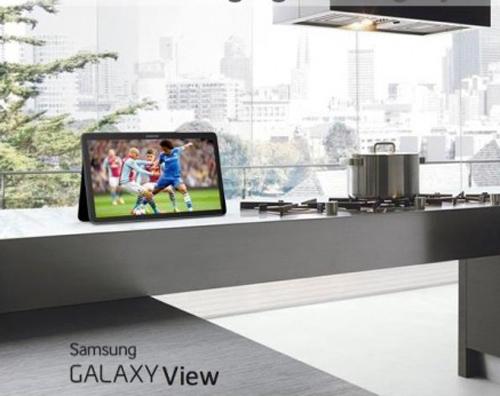 """""""Quái vật"""" Samsung Galaxy View lộ cấu hình - 1"""