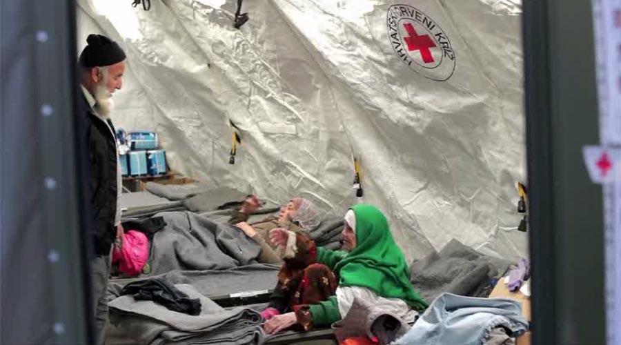 Cụ bà 105 tuổi đi bộ 20 ngày đến kiệt sức tìm nơi tị nạn - 2