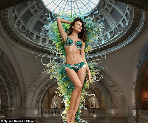 Irina Shayk mặc nội y sexy khiến fan ngây ngất - 2