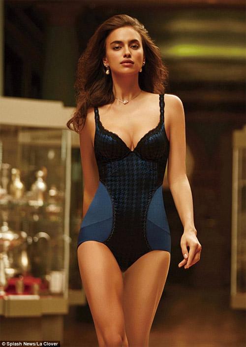 Irina Shayk mặc nội y sexy khiến fan ngây ngất - 6
