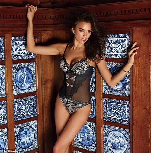 Irina Shayk mặc nội y sexy khiến fan ngây ngất - 9