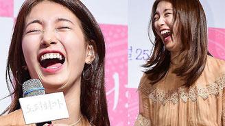 Bạn gái Lee Min Ho cười thả ga, nói về việc giả trai