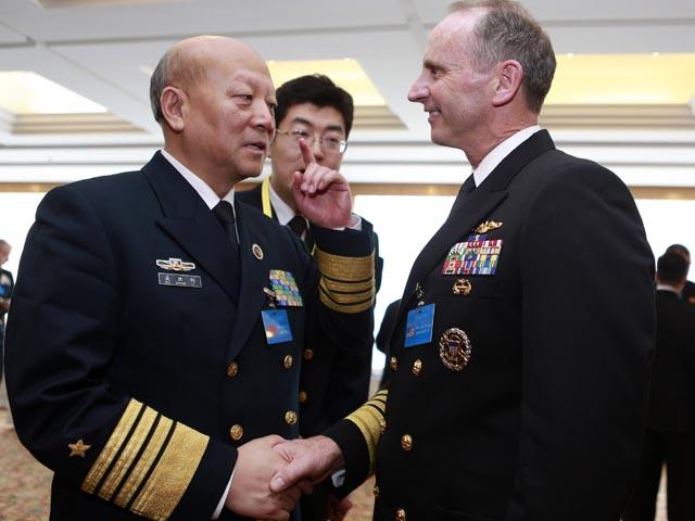 Đô đốc Mỹ, Trung họp bàn về Biển Đông hôm nay - 1