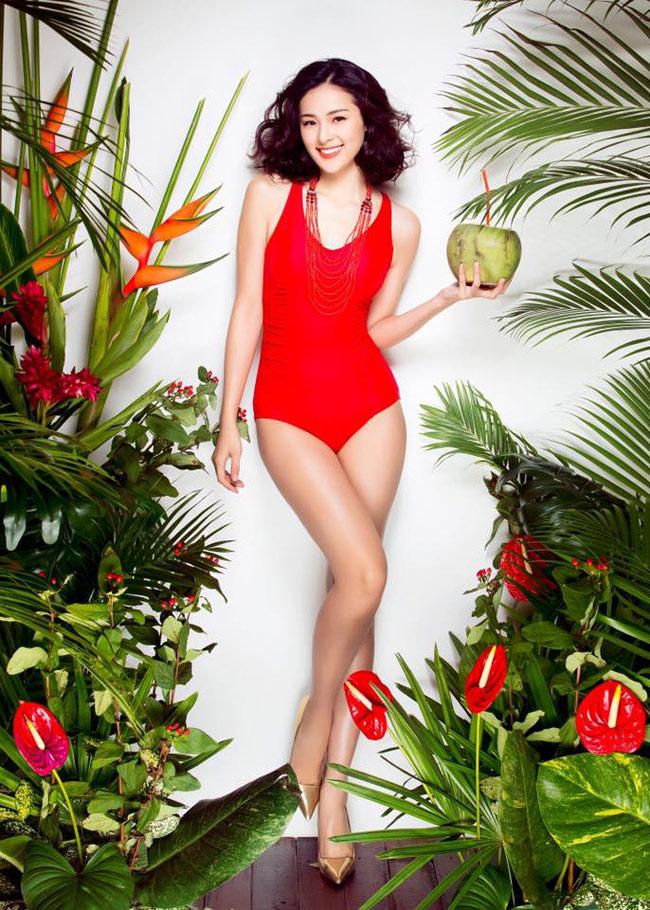 Trước khi đi học nước ngoài, cô đã là một người mẫu ảnh khá quen mặt tại Việt Nam.