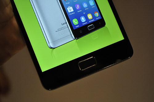 Lenovo tung smartphone VIBE P1 có cảm biến vân tay ở nút Home - 2