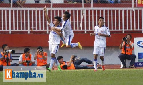 U21 An Giang - U21 Bình Định: Trừng phạt sai lầm - 1