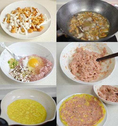 Trứng cuộn thịt đơn giản cho bữa cơm tối - 2