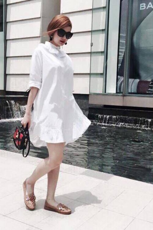 5 cách diện váy suông như fashionista đích thực - 3