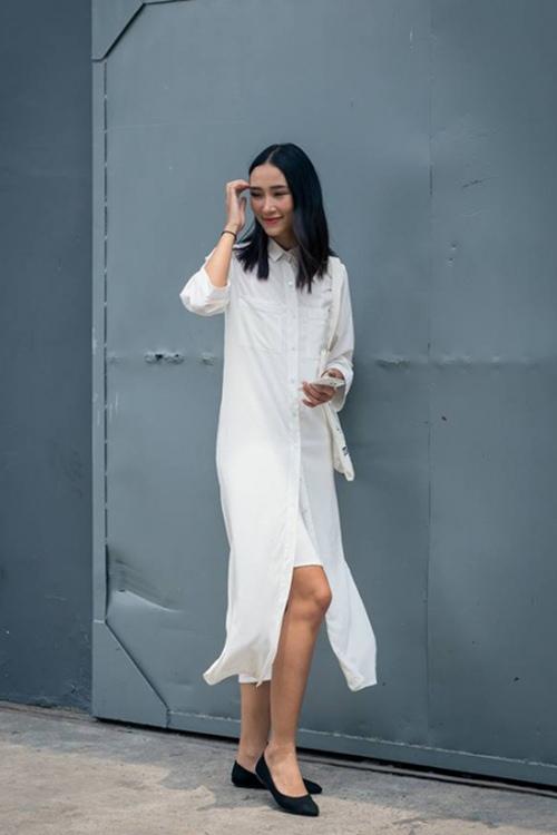 5 cách diện váy suông như fashionista đích thực - 4