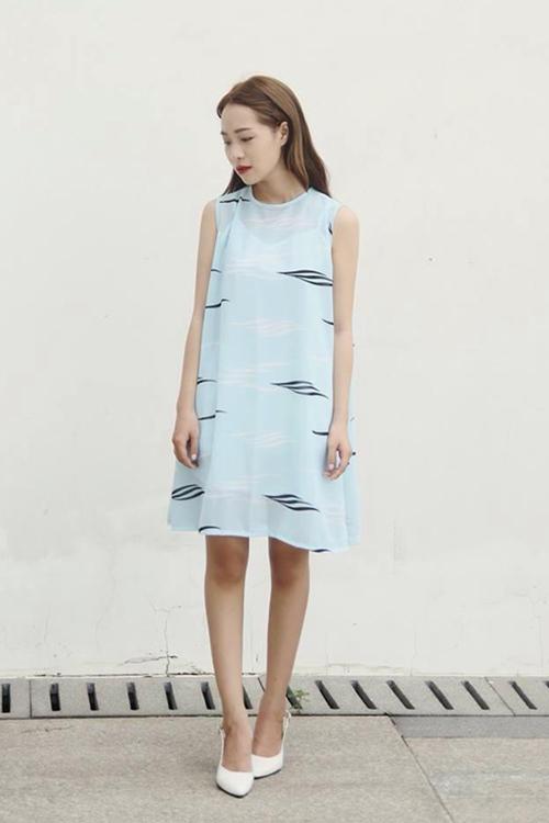 5 cách diện váy suông như fashionista đích thực - 5