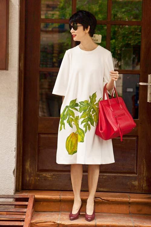 5 cách diện váy suông như fashionista đích thực - 6