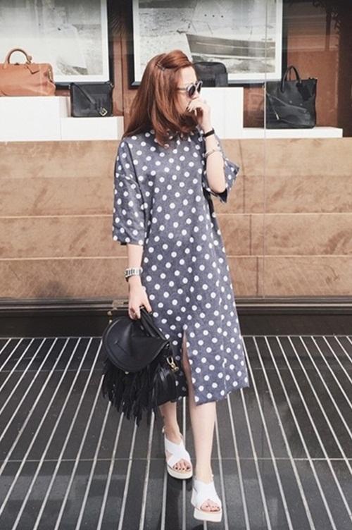 5 cách diện váy suông như fashionista đích thực - 7