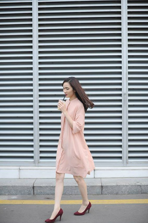 5 cách diện váy suông như fashionista đích thực - 10