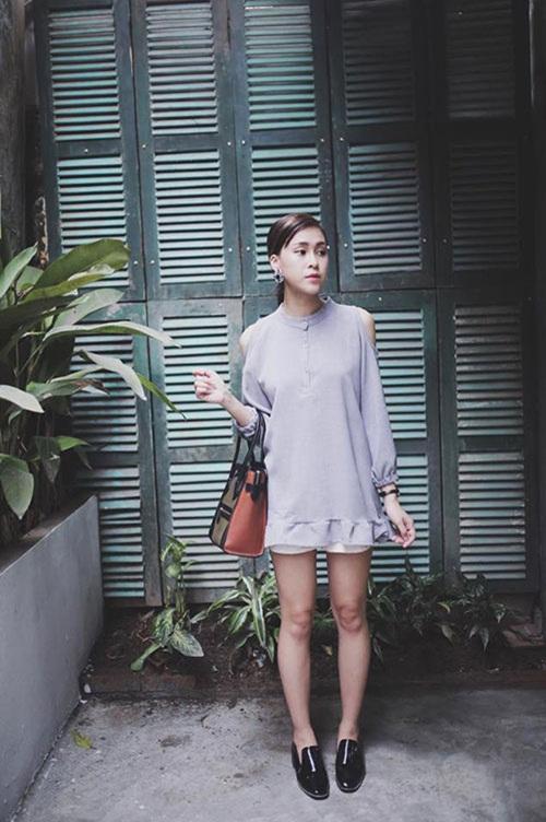 5 cách diện váy suông như fashionista đích thực - 8