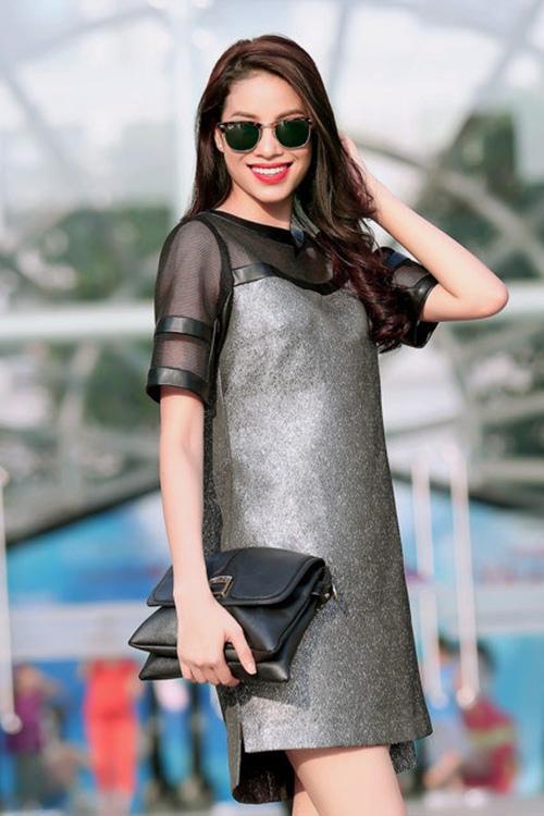 5 cách diện váy suông như fashionista đích thực - 14