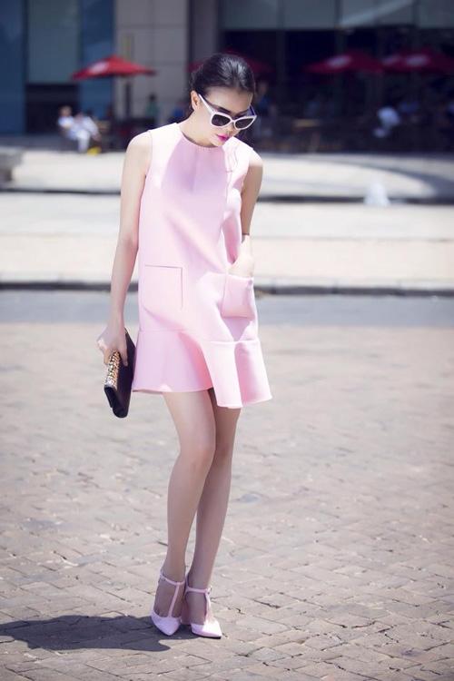 5 cách diện váy suông như fashionista đích thực - 11