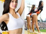 Giảm cân - Chân dài tít tắp của cổ động viên xinh đẹp nhất xứ Hàn