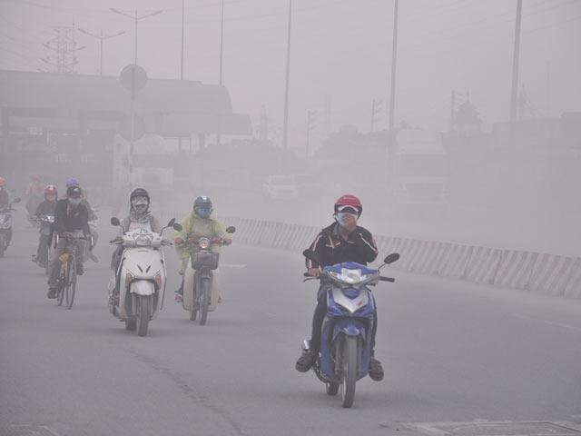 """Ngộp thở với """"sương khói"""" giữa thành phố - 1"""