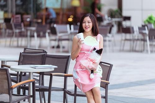 Văn Mai Hương ghi điểm với gu mặc xuống phố lạ mắt - 6