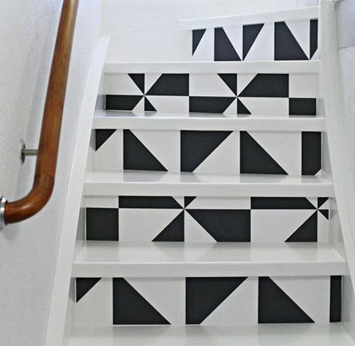 7 cách trang trí nhà bằng giấy dán tường đầy sáng tạo - 6