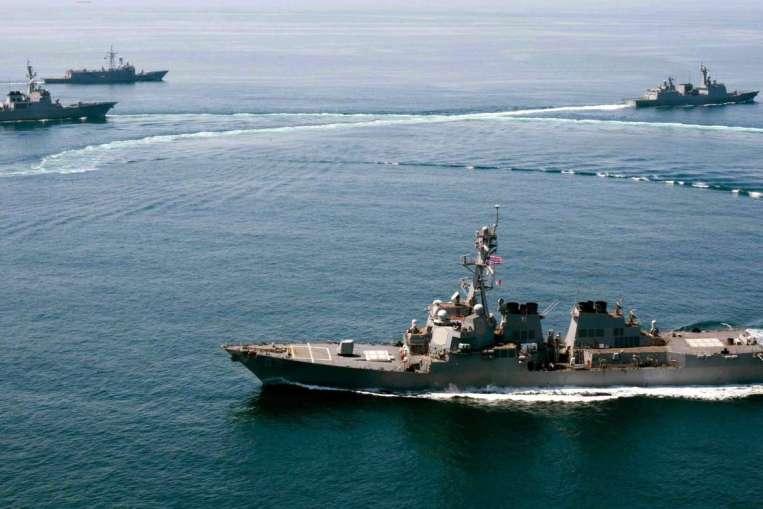 Hải quân TQ-Mỹ đạt thỏa thuận vụ tàu tuần tra Biển Đông - 1