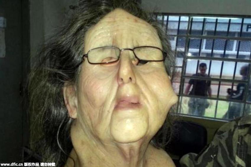 Trùm ma túy Brazil hóa trang thành bà già để vượt ngục - 1