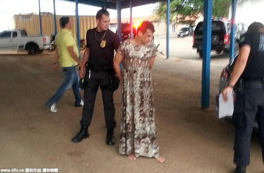 Trùm ma túy Brazil hóa trang thành bà già để vượt ngục - 3
