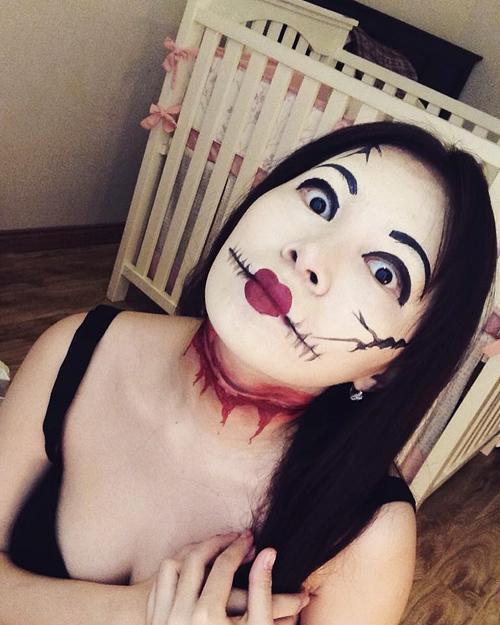 9X Hải Phòng gợi ý trang điểm Halloween đẹp mắt - 1