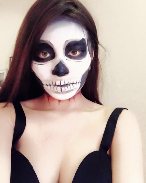 9X Hải Phòng gợi ý trang điểm Halloween đẹp mắt - 3