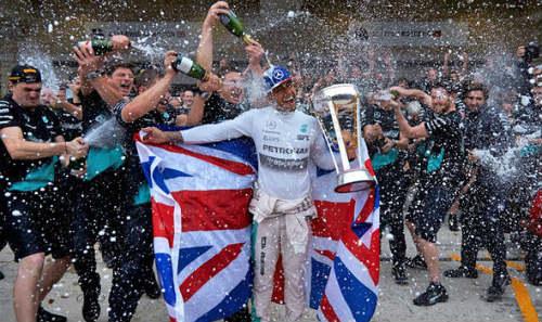 F1, United States GP: Lịch sử gọi tên Lewis Hamilton - 2
